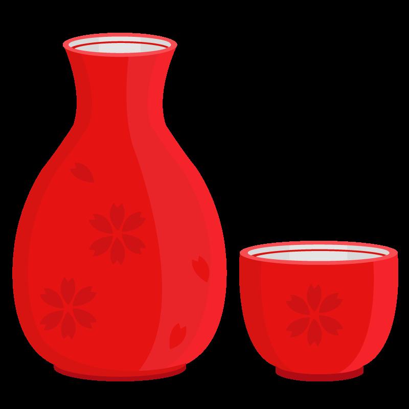 熱燗のイラスト 熱燗 fa804drink019 飲み物のイラスト