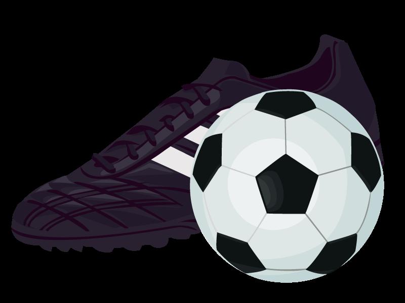かっこいい サッカー ボール イラスト